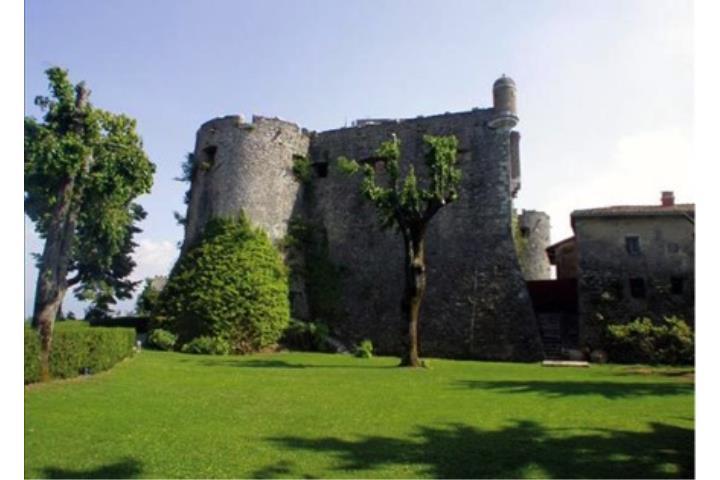 Letto A Castello Lazio.Castello Baronale Collalto Sabino Lazio Italia
